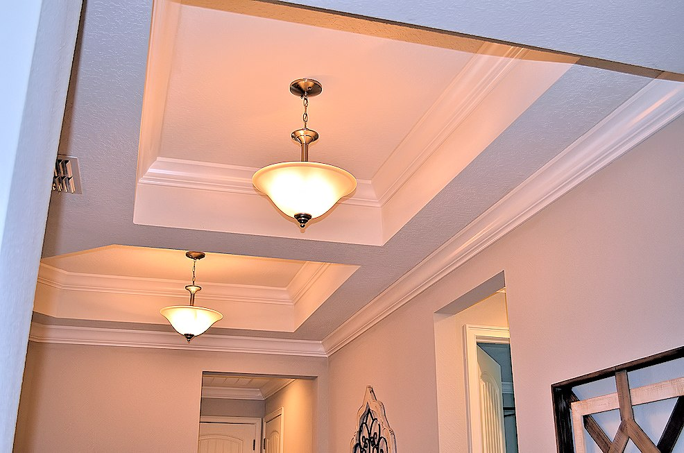 Crown Molding Installation Tray Ceiling